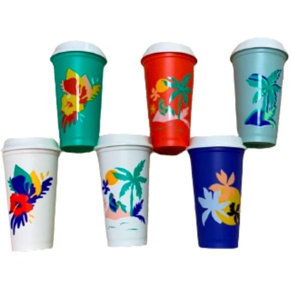 NEW Starbucks Summer 2020 Reusable Hot Cups 16oz
